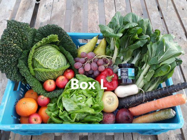 Voorbeeld 1 groente/fruit bezorgbox