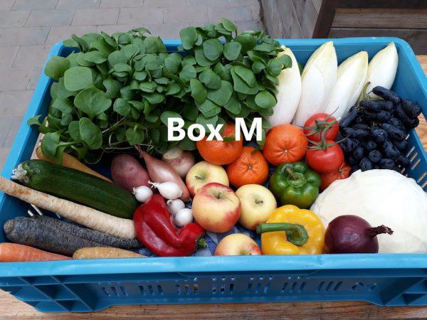 Voorbeeld 2 Groente/fruit bezorgbox