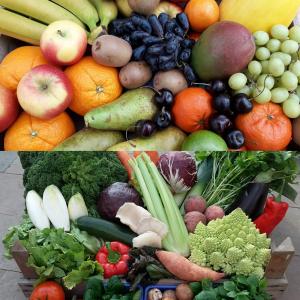 Groente/fruit bezorgbox Algemeen