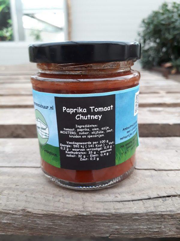 Paprika-tomaat chutney