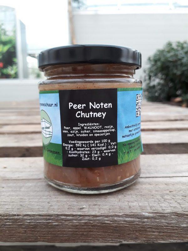 Peer-noten chutney