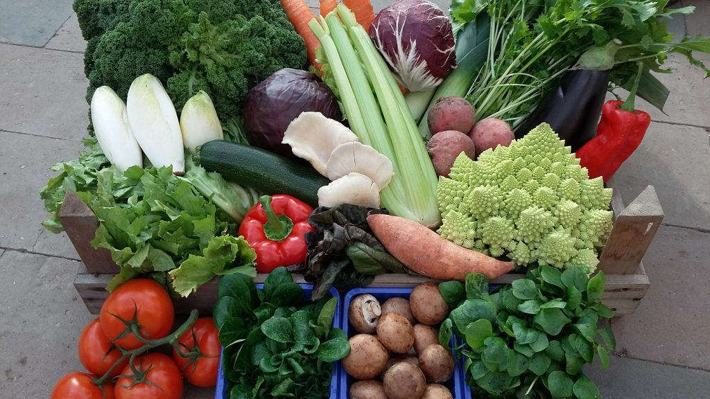 Kistje groenten